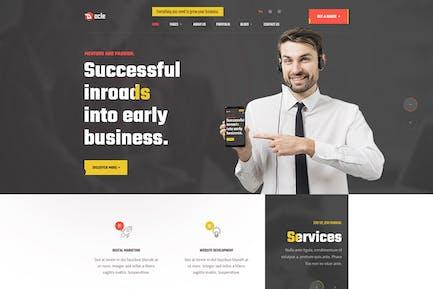 Docle — Template Kit für digitale Agenturdienste
