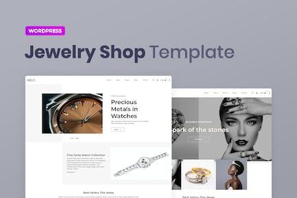 Brilly — Joyería WooCommerce Elementor Template Kit