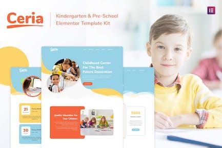 Ceria - Kindergarten & Pre-School Elementor Template Kit