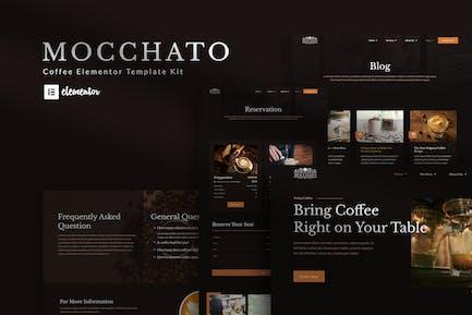Mocchato - Coffee Shop Elementor Template Kit