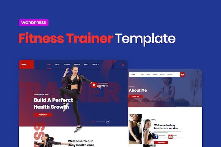 Josy – Sport & Fitness Elementor Template Kit
