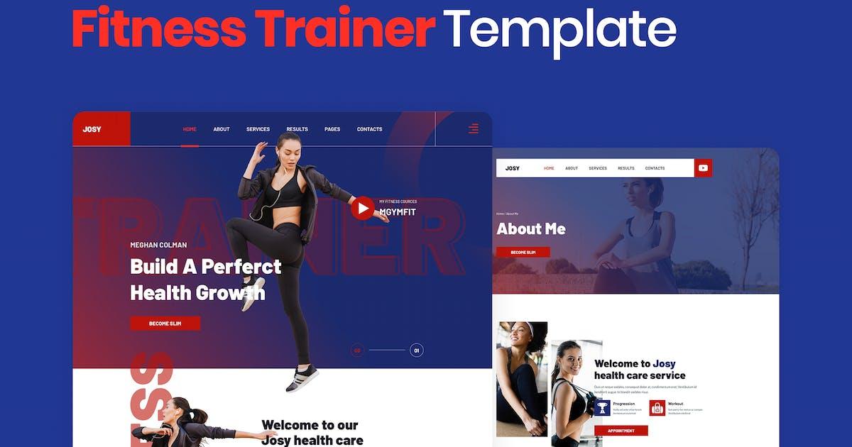 Download Josy – Sport & Fitness Elementor Template Kit by merkulove
