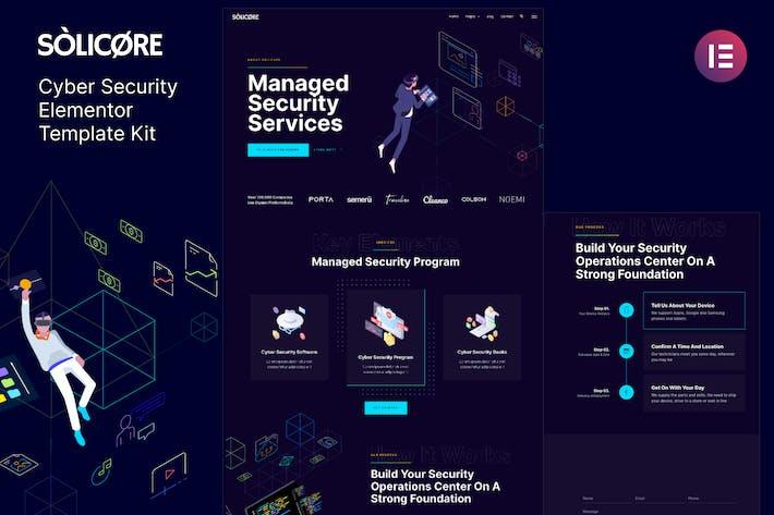Solicore - Template Kit de elementos de seguridad cibernética