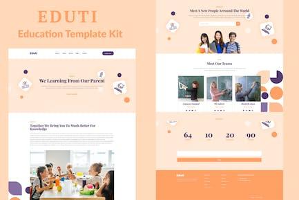 Eduti - Bildung Elementor Template Kit