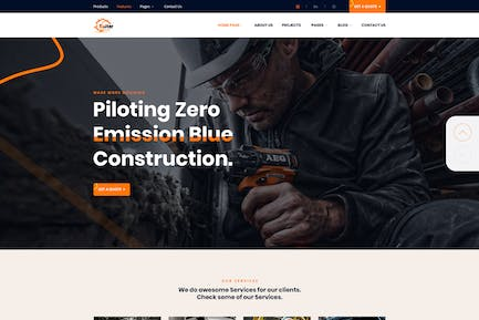 Bulter - Clean Construction Template Kit