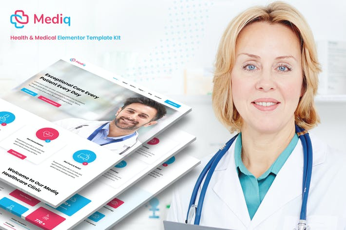 Mediq - Health & Medical Elementor Template Kit