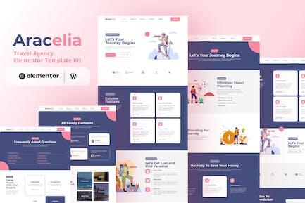Aracelia - Reisebüro Elementor Template Kit