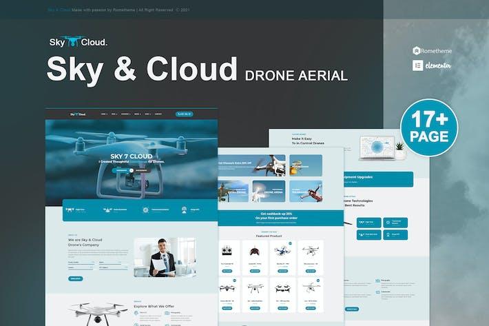 Sky&Cloud - Elemenor-Vorlagenset für Drohnenaufnahmen und Videografie