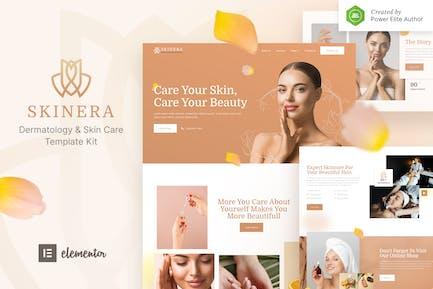 Skinera — Dermatologie und Hautpflege Elementor Template Kit