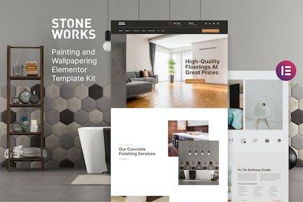 StoneWorks - Template Kit suelo y hogar