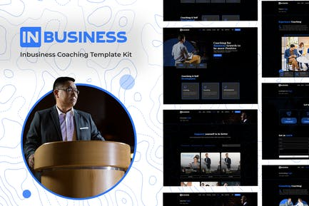 Inbusiness - Coaching Business Elementor Template Kit