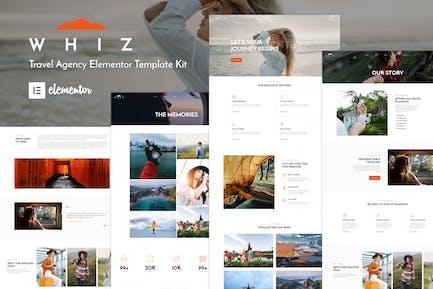 Whiz - Reisebüro Elementor Template Kit