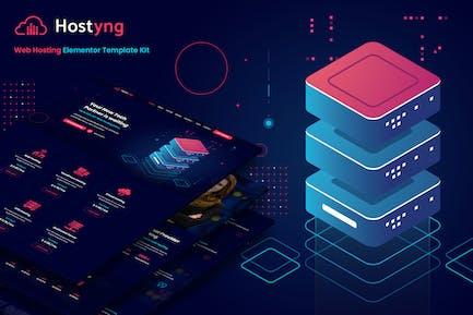 Hostyng - Webhosting Elementor Template Kit