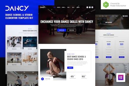 Dancy – Dance School & Studio Elementor Template Kit