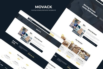 Movack - Template Kit Elementor