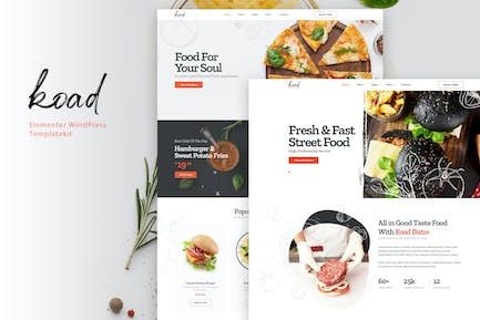 Koad - Restaurant & Bistro Elementor Template Kit