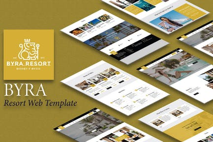 Byra - Hotel & Resort Elementor  Template Kit