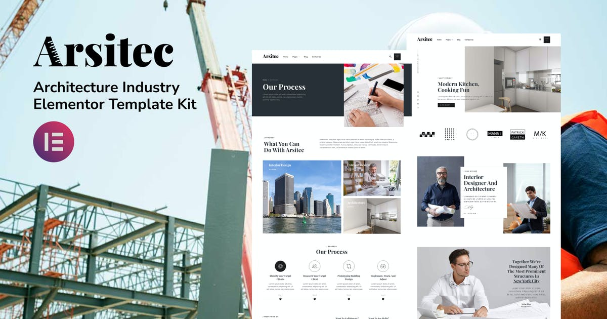 Download Arsitec - Architecture and Interior Elementor Template Kit by deTheme