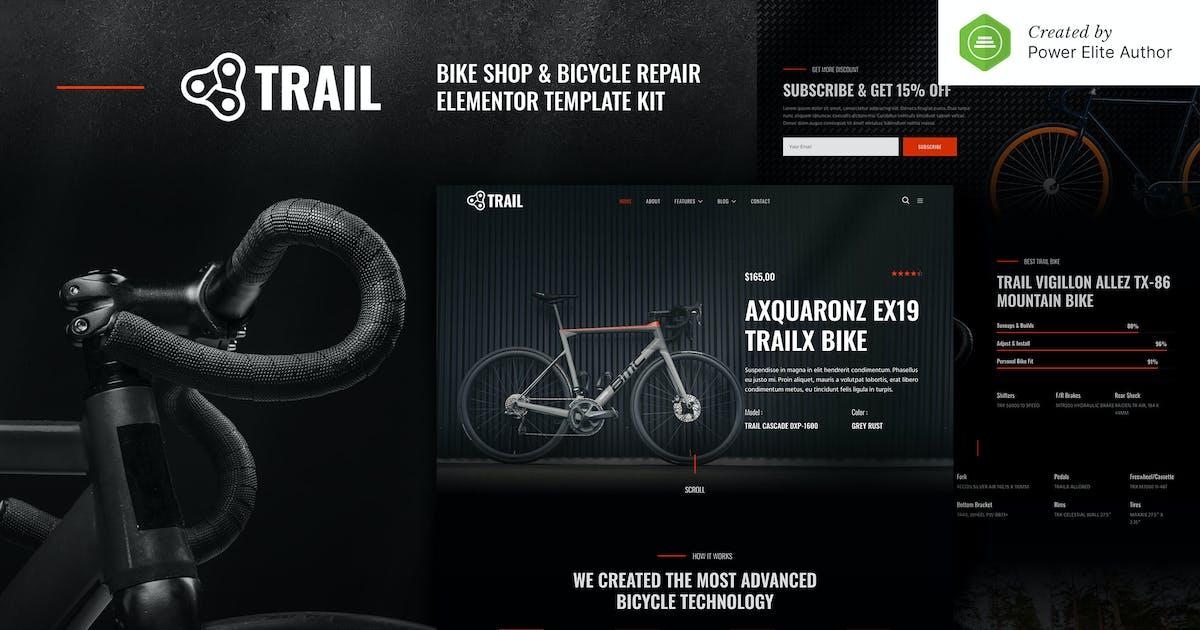 Download Trail – Bike Shop & Bicycle Repair Elementor Template Kit by jegtheme