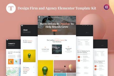 Terrano - Design Firm & Agency Elementor Template Kit