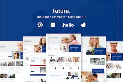 Futura - Insurance Elementor Template Kit