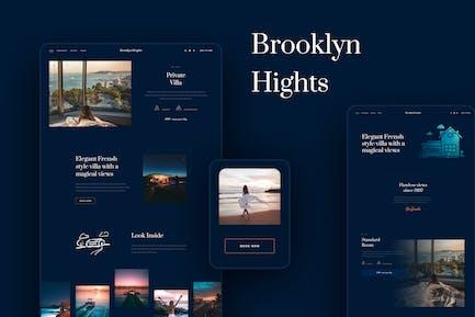 Brooklyn Heights - Template Kit für private Villa & Hotel Elementor
