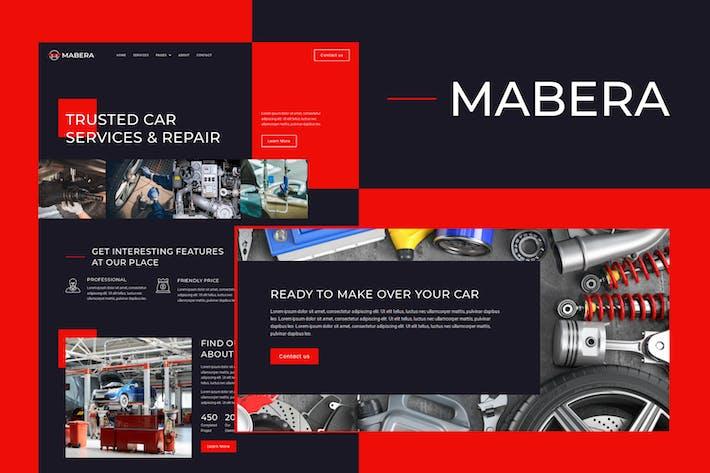 Mabera - Car Service & Repair Elementor Template Kit