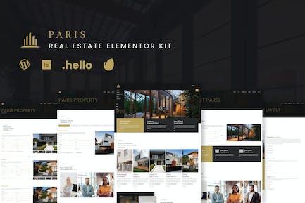 Paris - Real Estate Elementor Template Kit