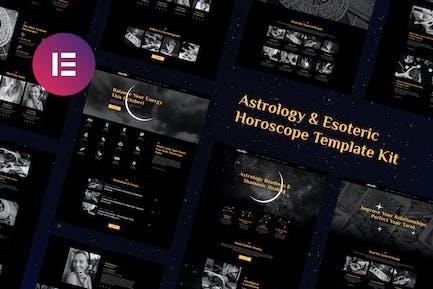 Mystik | Astrology & Esoteric Horoscope Elementor Template Kit