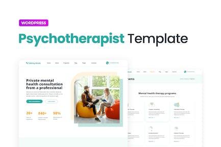 Talking Minds - Template Kit para psicoterapeutas Elementor