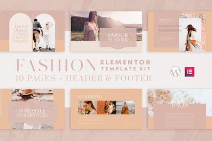 Valentina - WooCommerce Elementor Template Kit