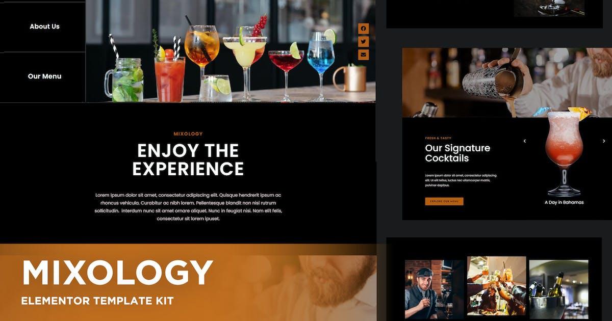 Download Mixology - Bar & Cocktails Elementor Template Kit by ingridk