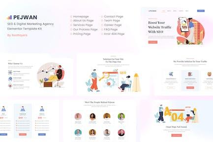 Pejwan - SEO & Digital Marketing Agency Template Kit