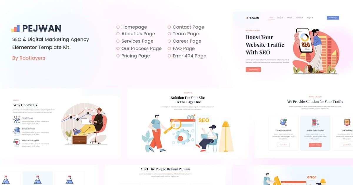 Download Pejwan - SEO & Digital Marketing Agency Template Kit by rootlayers