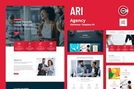 ARI - Kit de Plantilla agencia