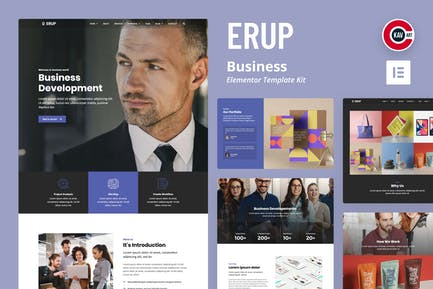 EruP - Kit de Plantilla negocio