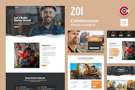 ZOI - Template Kit construction