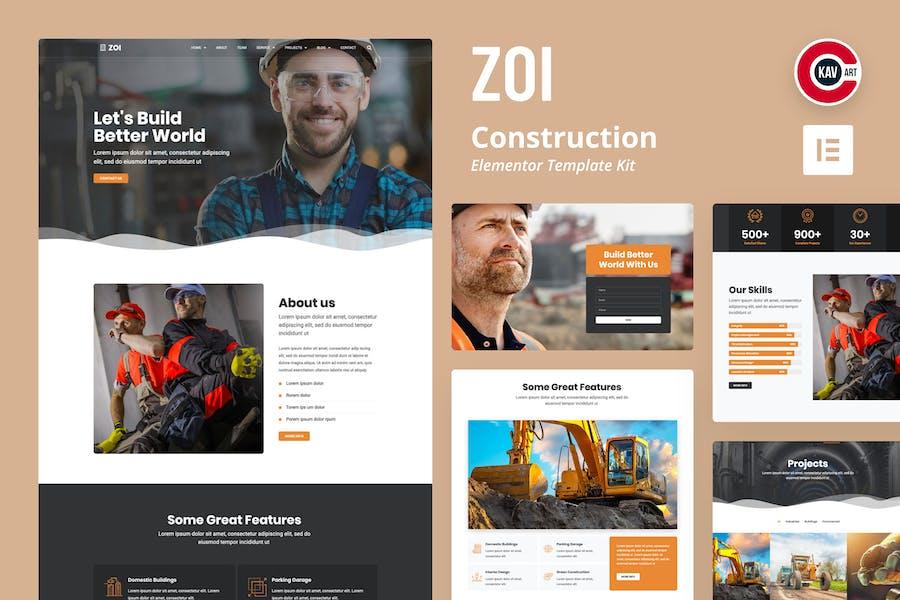 ZOI - Template Kit de construcción