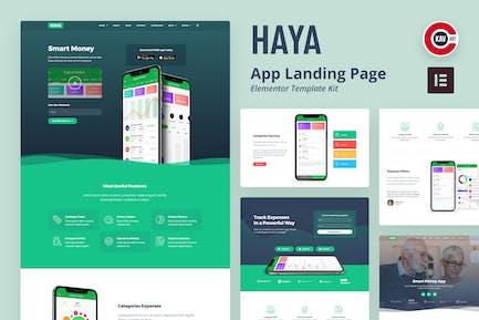 Haya - App Template Kit