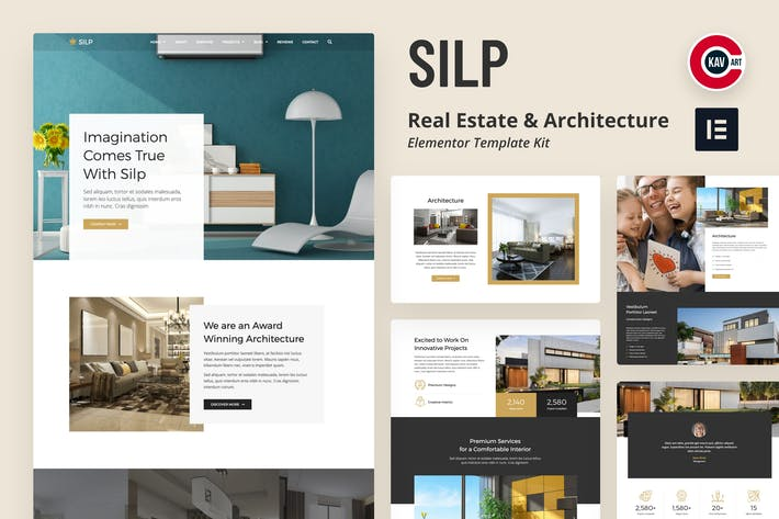 Silp - Template Kit llas Inmobiliarias y Arquitectura