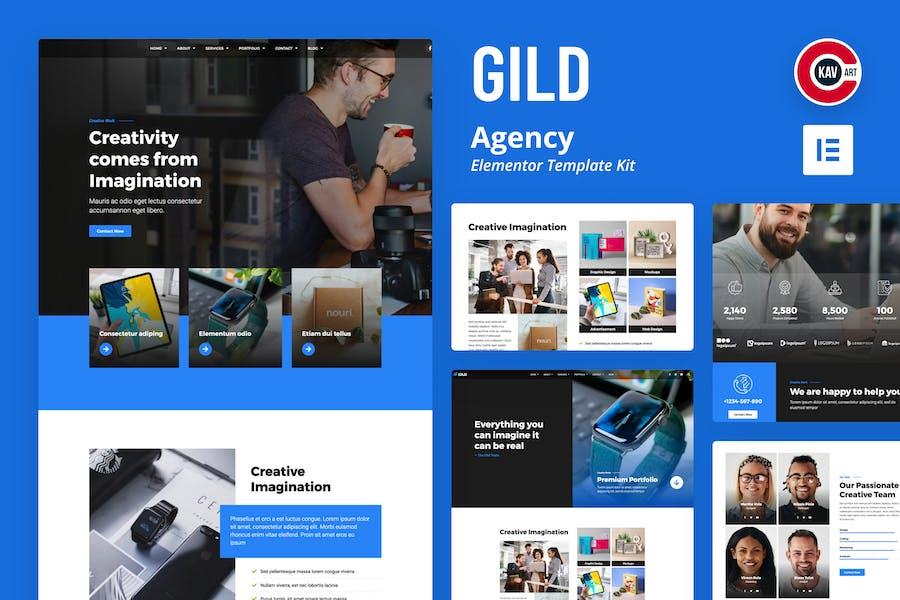 Gild - Agency Template Kit