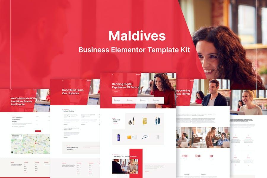 Maldives - Business & Agency Elementor Template Kit