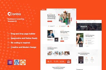 Conbiz - Consultancy & Business Elementor Template Kit