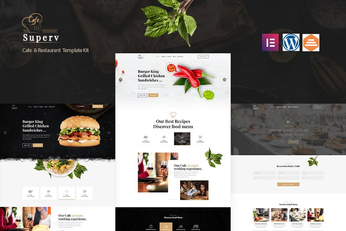 Koad - Restaurant & Bistro WordPress Theme by Nunforest on Envato Elements