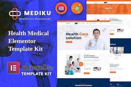 Mediku - Template Kit de Elementor Médico de Salud