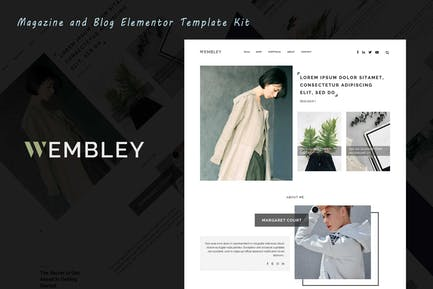 Wembley - Blog & Magazine Elementor Template Kit