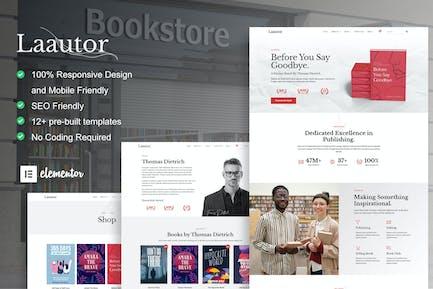 LaAutor - Author & Publisher Elementor Template Kit