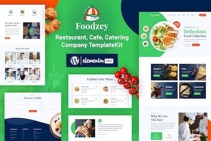 Foodzey - Restaurant Elementor Template Kit