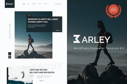 Barley - Blog & Magazine Elementor Template Kit