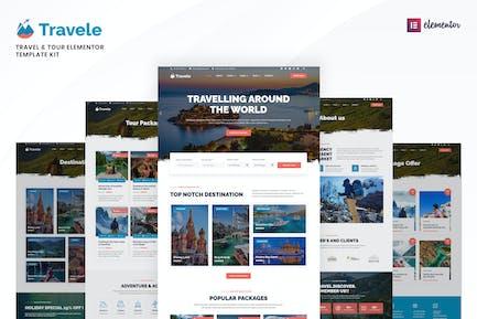 Travele – Travel & Tour Agency Elementor Template Kit